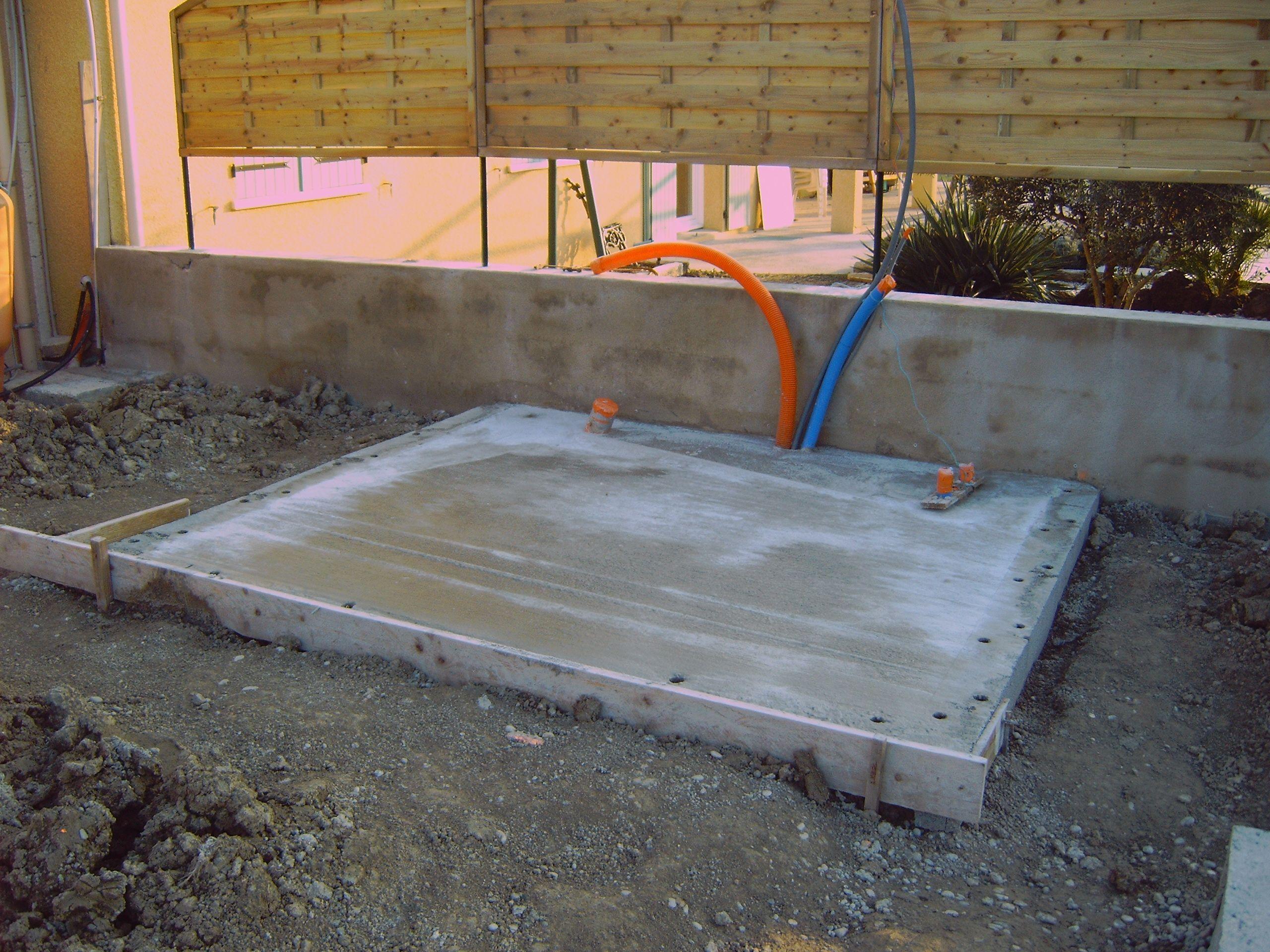 Ma nouvelle piscine for Piscine en tole rectangulaire